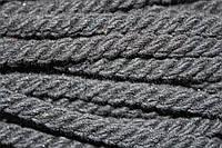 Канат декоративный ХБ 8мм (50м) черный, фото 1
