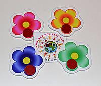 Магнитный стенд для крепления рисунка Цветочки