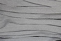 Тесьма акрил 15мм (50м) св.серый