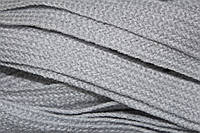 Тесьма акрил 20мм (50м) св.серый, фото 1