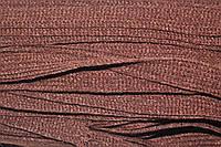 Тесьма акрил 20мм (50м) т. коричневый, фото 1