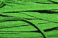 Тесьма акрил 6мм (50м) зеленый