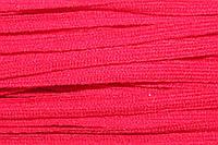 Тесьма акрил 6мм (50м) красный