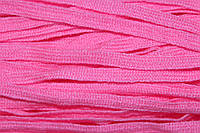Тесьма акрил 6мм (50м) розовая