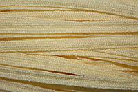 Тесьма акрил 6мм (50м) св.желтый
