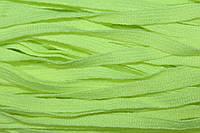 Тесьма акрил 6мм (50м) св.салат