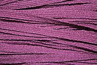 Тесьма акрил 6мм (50м) т.сиреневый