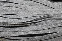 Тесьма акрил 6мм (50м) серый, фото 1