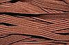 Тесьма ПЭ 10мм (100м) коричневый (шоколад)