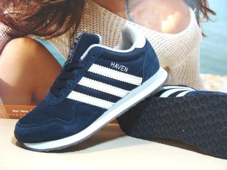 Кроссовки Adidas Haven (реплика) синие 37 р.