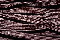 Тесьма ПЭ 10мм (100м) т.коричневый, фото 1
