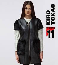 11 Kiro Tokao | Жилетка женская весенне-осенняя 4774 черный