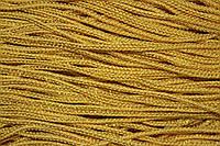 Шнур 2.5мм (100м) желтый + золото