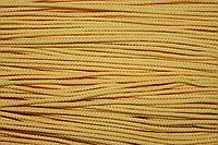 Шнур 2мм (100м) желтый