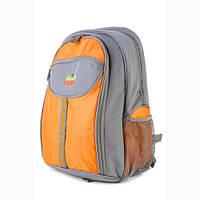 Удобный рюкзак для пикника GREEN CAMP 4чел, оранж 27л