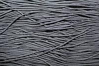 Шнур 2мм (100м) т.серый