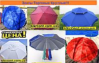 Купить Зонт для Уличной Торговли. Круглые 1,8м, 2м, 2,5м, 3м, 3,5м, 4м.