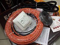 Кабель нагревательный для дома или дачи, 3.8 м.кв. (Акционная цена с механическим регулятором)