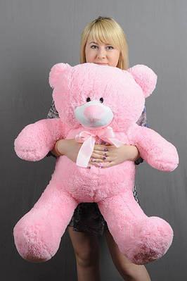 """Плюшевый мишка """"Плюх"""", розовый, 90 см."""