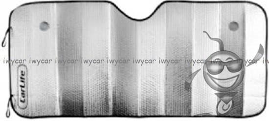 Шторка сонлцезащитная 145х70 см (фольга)