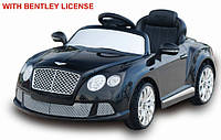 Электромобиль Bentley T-7913 BLACK легкова на р.к. 12V7AH мотор 2*40W с MP3 120*67.5*48 см