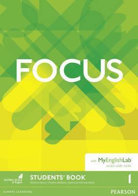 Учебник Focus 1 Student's Book with MyEnglishLab, фото 2