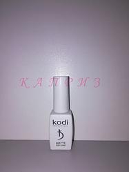 Финиш для гель лака Kodi Matte top coat veluor 8мл