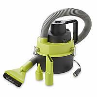 Автомобильный пылесос Black Wet & Dry Auto Vacuum Cleaner Автопылесос