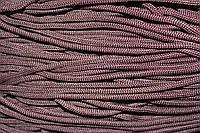 Шнур 5мм с наполнителем (200м) т. коричневый