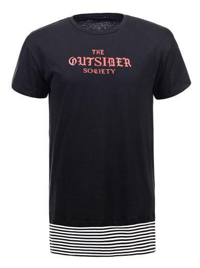 Мужская футболка  GLO-STORY AS18 MPO-5323 черная