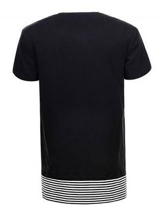 Мужская футболка  GLO-STORY AS18 MPO-5323 черная, фото 2