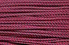 Шнур 5мм спираль (100м) красный + т.синий