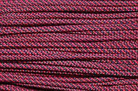 Шнур 5мм спираль (100м) красный + т.синий, фото 1