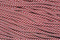 Шнур 5мм спираль (100м) красный+белый
