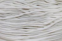 Шнур 6мм ак. гладкий (100м) белый
