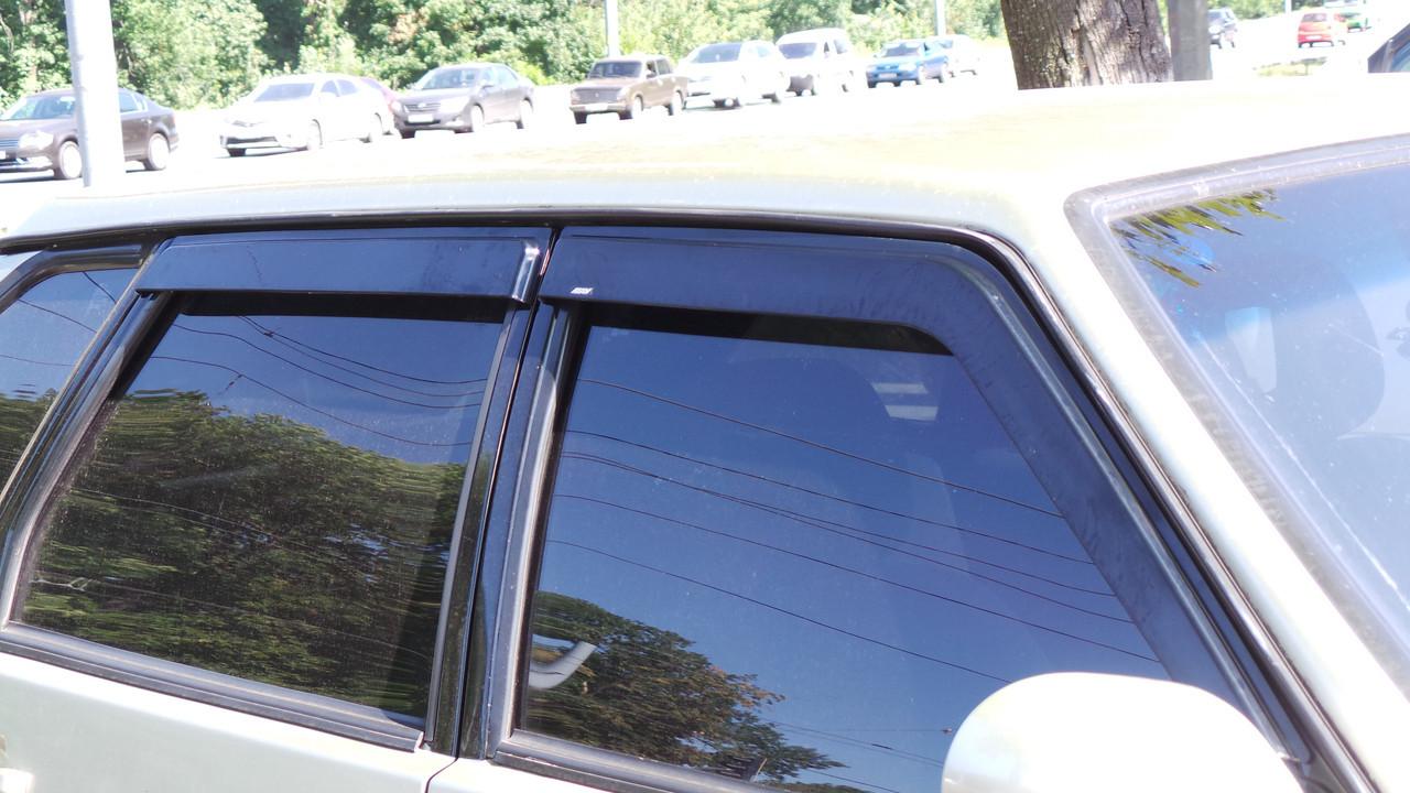 Дефлекторы окон - ветровики ВАЗ 2109, 21099, 2114, 2115 (на скотче) клеящиеся