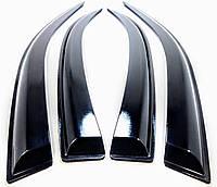 Дефлекторы окон - ветровики DAEWOO Lanos седан (на скотче) клеящиеся