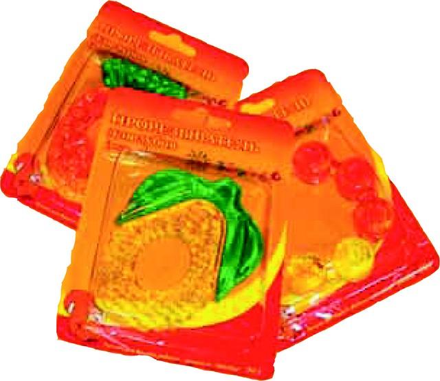 Прорезыватель водный 2-цветный, арт. 005 - 10 шт