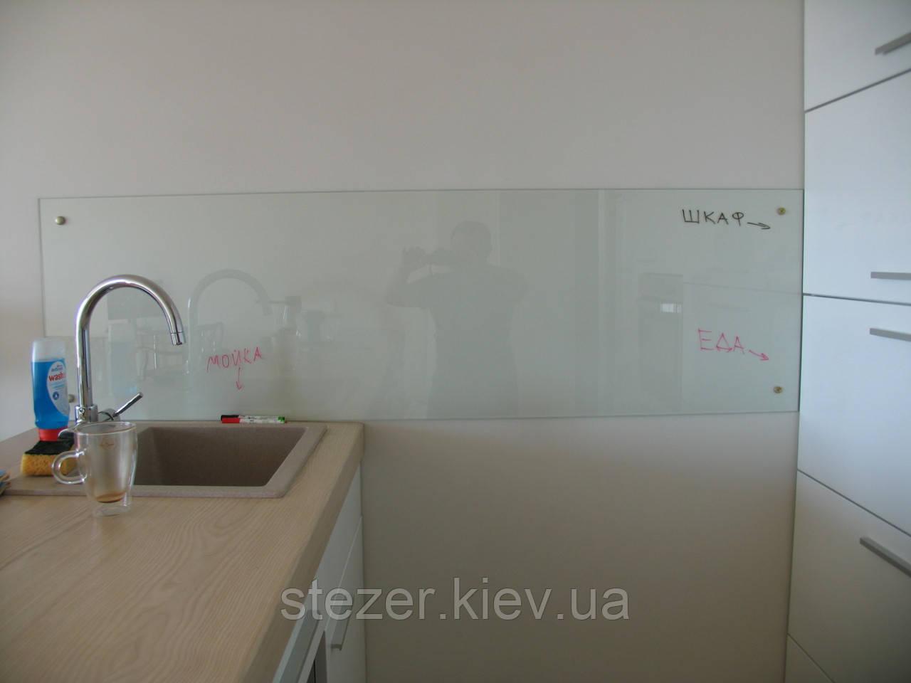 Фартук из прозрачного стекла