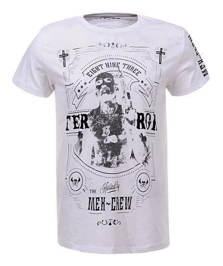 Мужская футболка  GLO-STORY AS18 MPO-5318 White белая