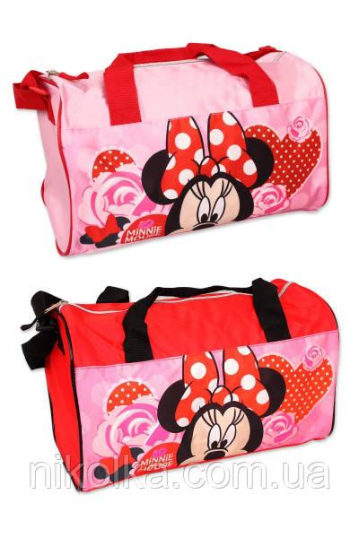 Сумка для девочек оптом,Disney,22 * 38 * 20 см.,арт.MIN-A-BAG-18