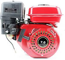 Двигатель мотоблочный в сборе под шлиц Ø25мм 7,0л.с. 170F