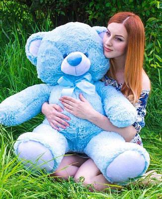 """Плюшевый мишка """"Томи"""", голубой, 100 см."""