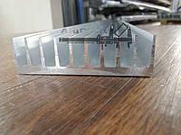 Радиаторный профиль алюминиевый 92х26, без покрытия.