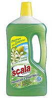 Засіб для миття підлоги Scala Pavimenti e Piastrelle Agrumi e Fiori di Limone Verde 1L