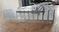 Алюминиевый профиль радиаторный 122х26, без покрытия.