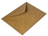 Крафт конверт С6 с треугольным клапаном 90 гр/м2