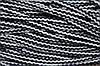 Шнур акрил 6мм. (100м) белый+т.синий