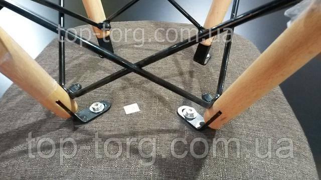 Крепление стула DS-922 на металлический стальных стержнях