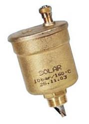 Воздухоотводчик (клапан) автоматический MV15 SOL